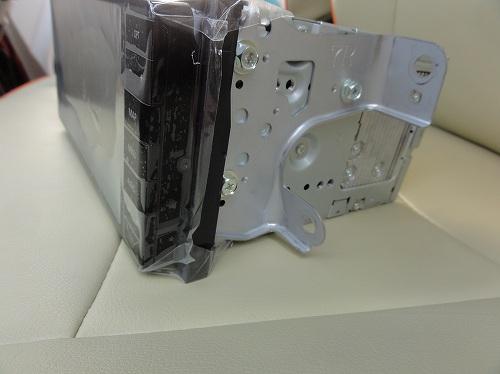 シエンタ170 ナビ 取り付け 固定金具 パナソニック ストラーダ CN-RA03WD