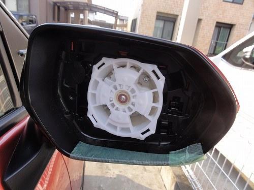 新型シエンタ 170系 ドアミラー交換 車両側