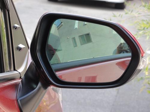 新型シエンタ 170系 ドアミラー レインクリアリングブルーミラー交換