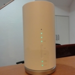 WiMAX Speed Wi-Fi HOME L01s 設置完了