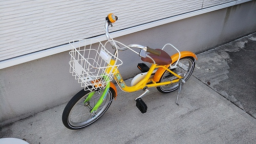 子ども用自転車 メンテナンス