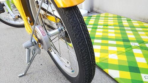 子ども用自転車 メンテナンス リアタイヤ交換