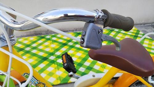 子ども用自転車 ブレーキレバー インナーケーブル交換