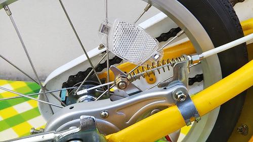 子ども用自転車 リア ブレーキケーブル 交換