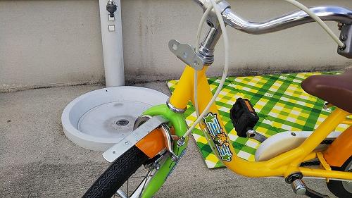 子ども用自転車 カゴ 取り外し
