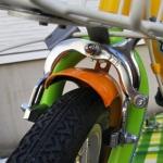 子ども用自転車 ブレーキキャリパー 交換後
