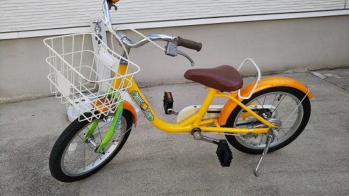子ども用自転車 メンテナンス完了