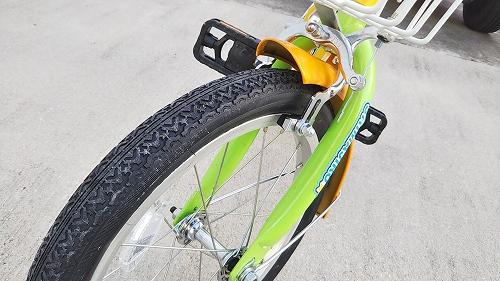 子ども用自転車 ブレーキキャリパー&インナーケーブル交換