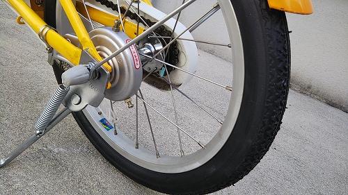 子ども用自転車 リアブレーキ インナーケーブル交換